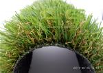 35mm Height Smooth Soft Plastic Grass Carpet / Outdoor Artificial Grass Landscaping