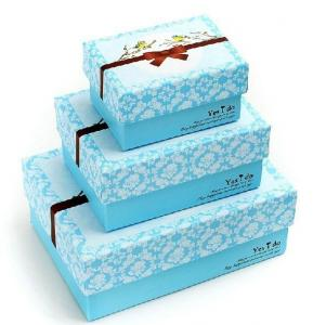 China Baby / Children Shoes Box Packaging , Colored Printed Corrugated Boxes on sale