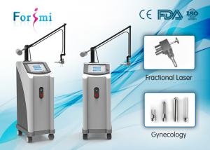 China Trible System adopted,Multifunction Available,Get one Machine Do multiple treatments, Fractional CO2 Laser Machine on sale