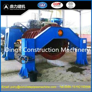 China circular reinforced concrete pipe machine-manufacturer on sale