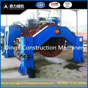 China hume concrete pipe making machine on sale