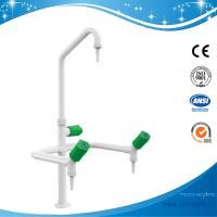 China SHA1-3-gooseneck faucet 3 Way Triple outlet Lab Tap Faucet,360°swing lab tap laboratory taps lab fittings deck mount on sale