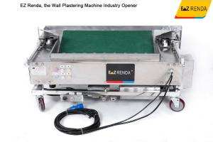 China Single Phase 220V  Internal Wall Plastering Machine / Cement Plastering Equipment on sale