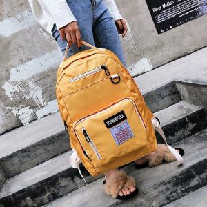 China Summer 2018 new cool style color checkerboard backpack handbag school bag on sale
