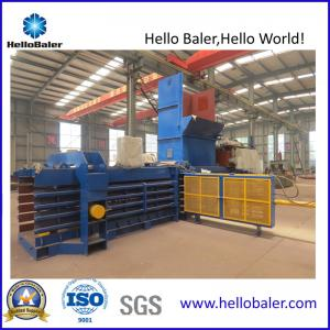 China Automatic Horizontal Hydraulic Waste Paper Baling Machine on sale