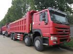 Sinotruk 12 Wheels Howo 8x4 Dump Truck Tipper 25M3 Front Lifting