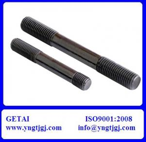 China Double End Stud Bolt with Nut on sale