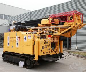 China Hydraulic Crawler Drilling Rig , Surface Diamond Core Drill Machine CSD1800X on sale