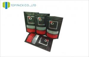 China La hoja del tabaco/del cigarro se levanta la impresión mate negra de las bolsas con la ventana on sale
