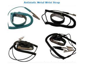 China Antistatic Metal Wrist Strap ESD Protective Ground Bracelet on sale