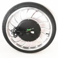 "BLDC 36v 48v 1000w 20"" Electric Bike Hub Motor / Bicycle Wheel Electric Motor"
