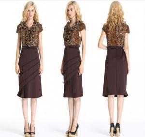 ... Quality Stylish Midi Length Short Sleeve Sheath Dress  09934146c