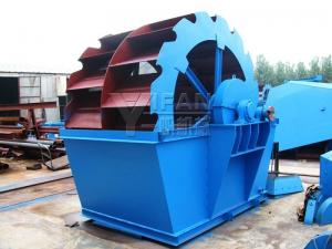 China Durable Wheel Sand Washer System , Sand Washing Plant For Aggregate Processing on sale