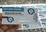 Hologram Glass Vial Labels Geo Gen Pharma Design For 10ml Injection Vial Use
