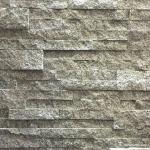 White Grey Granite Stacked Stone Natural Flat Style Oem For Ledge Panel
