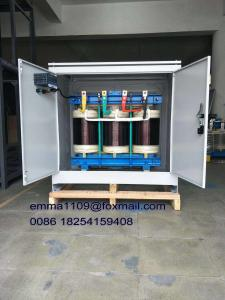 China Copper Winding Three Phase Isolation Transformer 60kva 230v to 380v for Tower Crane on sale
