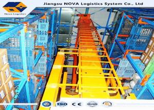 China Cold Rolled Steel Automated Storage Retrieval System on sale