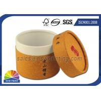 China Customized Cylinder Paper Packaging Tube , Food Grade Round Paper Tube Containers on sale