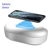 China UV Light Cell Phone Sanitizer Wireless Charger Box Fits Fit All Phones Below 6.5 Inch on sale