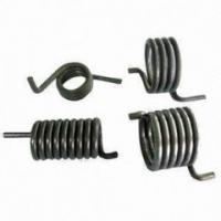 nickel plated music wire spring torsion spring manufacturer
