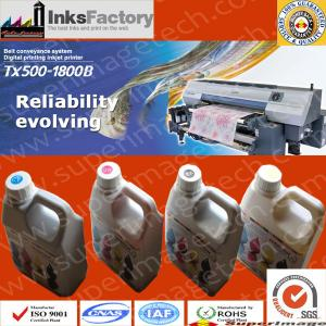 China Mimaki Tx500-1800ds Sublimation Inks sublimaiton printing ink neon sublimation ink fluorescent printing ink heat transfe on sale