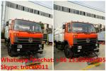 2019s new Dongfeng 190hp road sweeping and washing vehicle customized for Sialkot International Airport in Pakistan