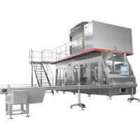 Aseptic Brick Carton High Speed Beverage Packaging Machine Turn Key Project 500-1000ml