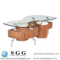 Excellence quality special shape glass top