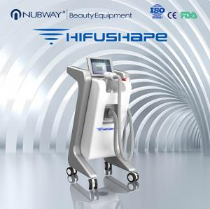 China Professional beauty equipment new technology hifushape for body slimming weight loss hifu on sale