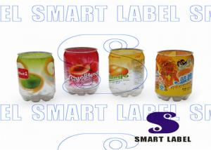 China Waterproof Tamper Evident Shrink Sleeves Custom Bottle Labels for Coconut Milk Vivid Printing on sale