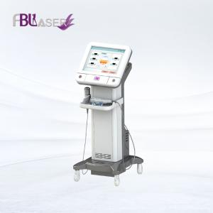 China face lifting fractional microneedle RF skin tightening /  stretch marks removal gold microneedle rf machine on sale