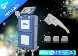 China Vertical Ultra Therapy Skin Tightening Hifu Treatment Machine 60W Family Use on sale