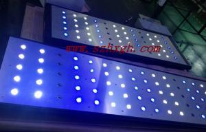China 240w Dimmable Reef Aquarium Led Light Bule / White Color Coral Light For Reef Growth on sale