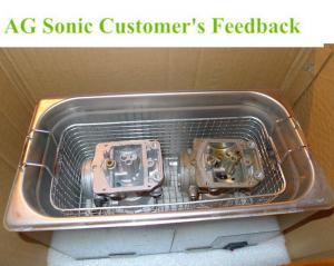 China Robust Tabletop Digital Ultrasonic Cleaner Devices For Heavy Duty Injector Mounting Tools on sale