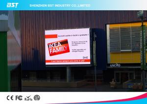 China 1/4 scan P10 1R1G1B Outdoor Advertising LED Display For Airport / Hotel  with 160X160mm Module on sale