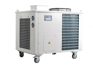 China Blue Axial Fan 50HZ Energy Efficient Swamp Cooler With 50 Liter Water Tank Noiseless on sale