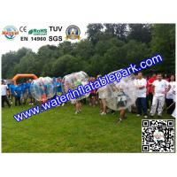 Professional Inflatable Human Bubble Football Ball for School