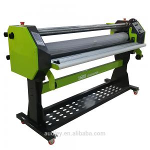China 1.6m wide format hot roll laminating machine hot and cold laminator on sale