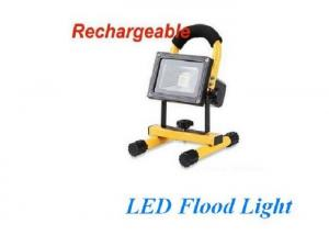 China Portable 10w Rechargeable LED Flood Light With 3000 - 6000K Color Temperature on sale