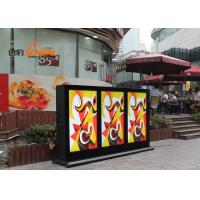 Stand Alone Outdoor LCD Digital Signage Kiosk High Definition Dust Proof