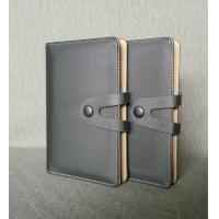 Deluxe business type real leather organiser