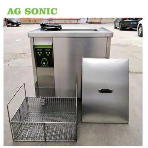 China 1.5KW 40Khz 60L Industrial Air Filter Cleaning Machine With Heating Element on sale
