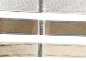 China Polyamide Covered Yarn Bed Sheet Felt Belt / Folder Elastic Stretch Belting on sale