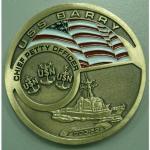 Monedas del metal en diverso diseño