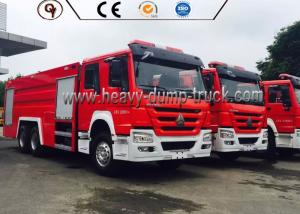 China 6X4 4x2 336 Hp Power Howo Firefighter Truck With Foam Tank And Water Tank on sale