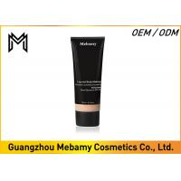 China Leg / Body Makeup Liquid Mineral Foundation SPF 25 Medium Coverage Long Lasting on sale