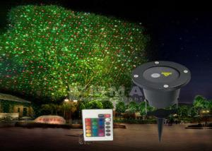 China Red And Green Laser Light , Landscape Laser Lights With Movement Display on sale