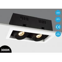 China Energy Saving Light 20w double heads CITIZEN COB Recessed LED  Down 1400lm Square Box LED Spot Ceiling Lamp on sale