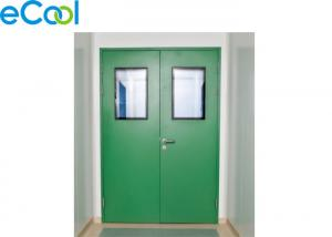 China Stainless Steel Polyurethane Panel Clean Door For Food Storage Warehouse on sale