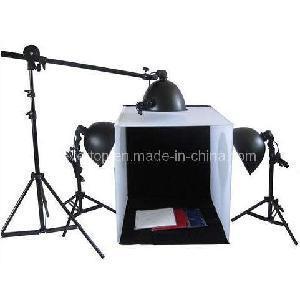 China Photography Studio Lighting Kit With 3 Lights on sale